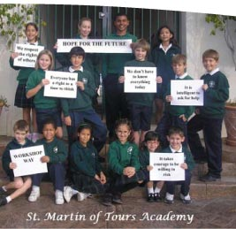 Address For St Martin Of Tours Academy